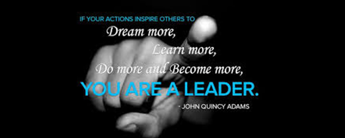 You Are A Leader