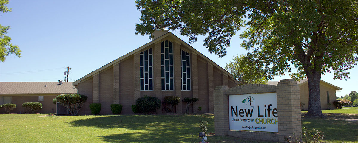 A Front View Of New Life Church